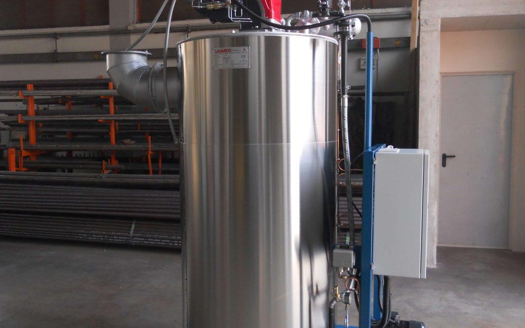 Dispositivos limitadores y que aportan calor en las calderas de vapor