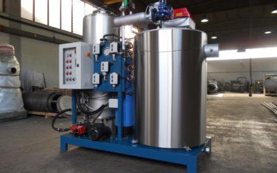 Cómo son los niveles de agua en los generadores de vapor