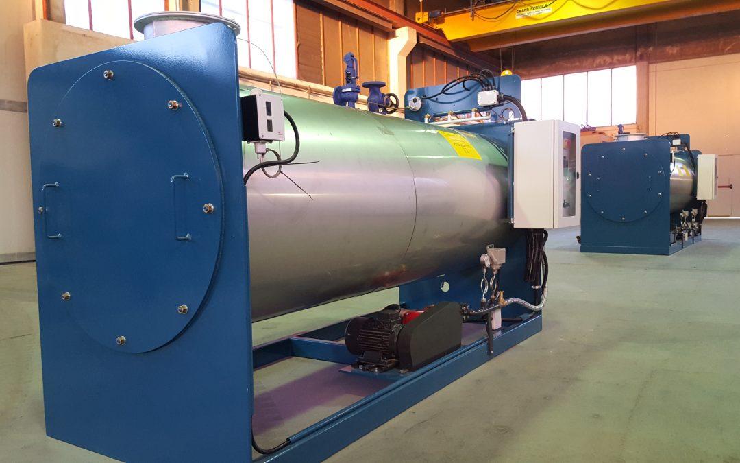 Cómo colocar un generador de vapor fuera de servicio