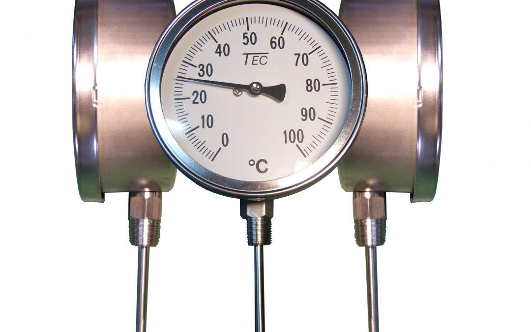 temperatura calderas de vapor