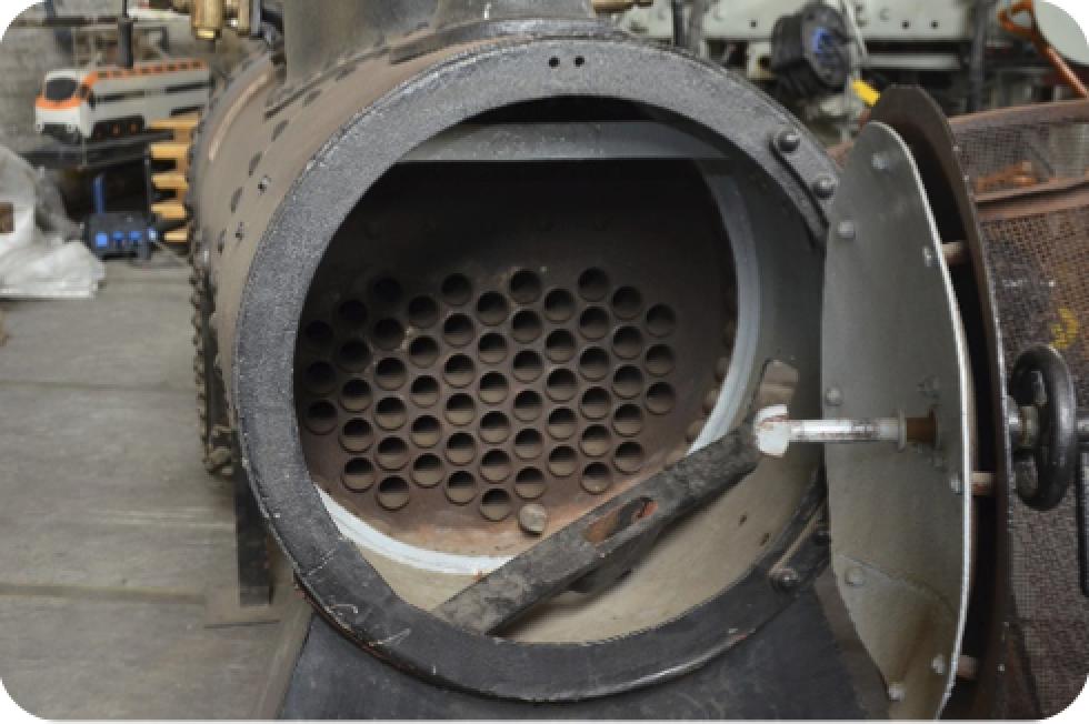 Qué tipo de calderas de vapor existen según su disposición