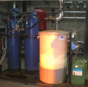 Tratamientos de agua para calderas de vapor