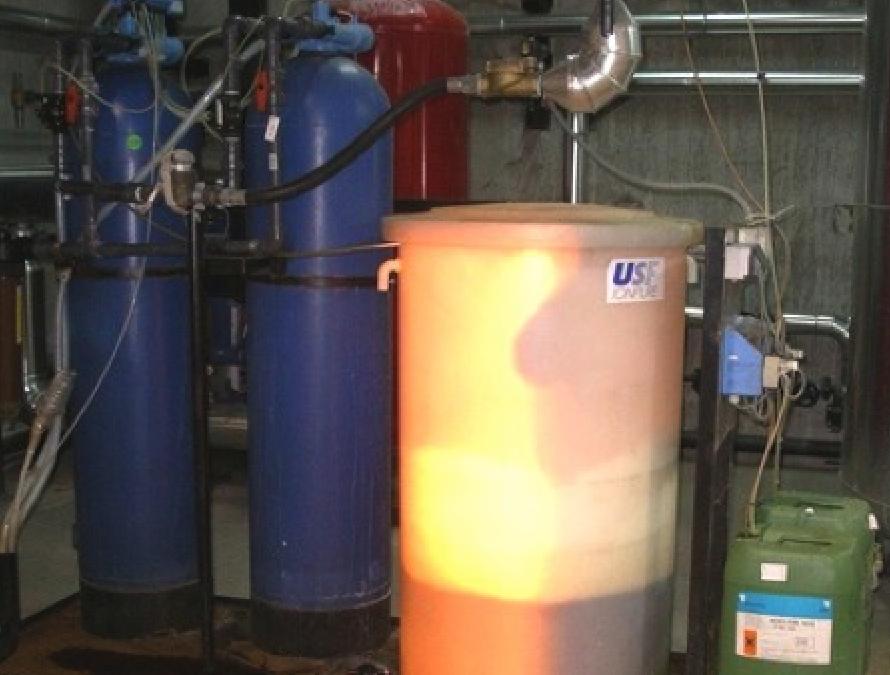 Tratamientos de agua para calderas de vapor – Descalcificadores